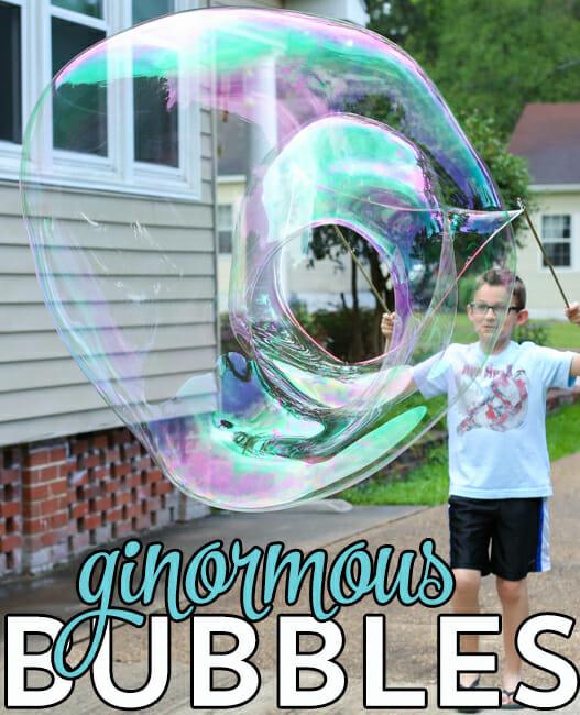 Ginormous Bubbles! Our Best Bites