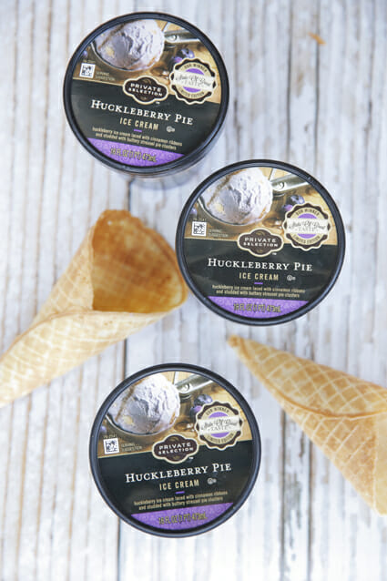 Private Selection Huckleberry Pie Ice Cream