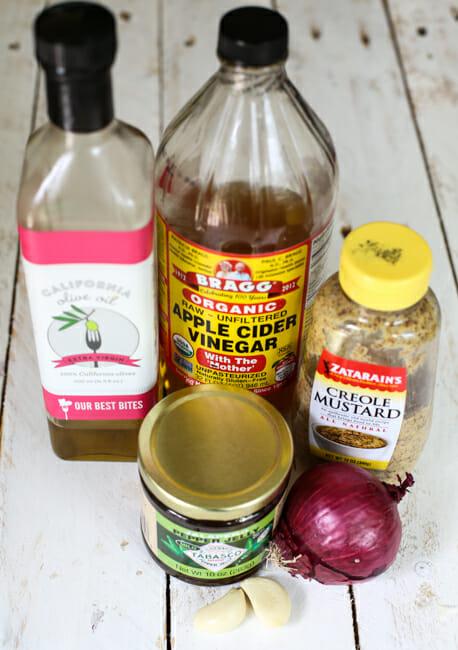 pepper jelly vinaigrette ingredients