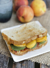 Peachy Bacon Sandwich from Our Best Bites intro