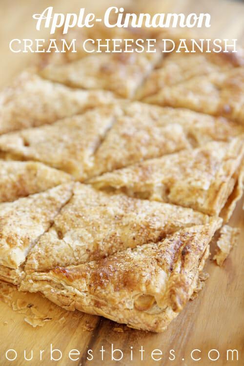 Apple-Cinnamon Cream Cheese Danish