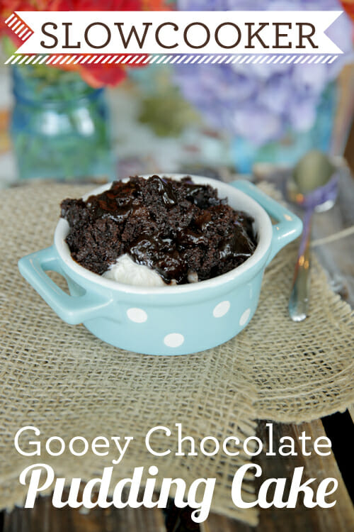 Gooey Chocolate Pudding Cake in a Slow Cooker from Our Best Bites