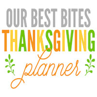 thanksgiving planner square small
