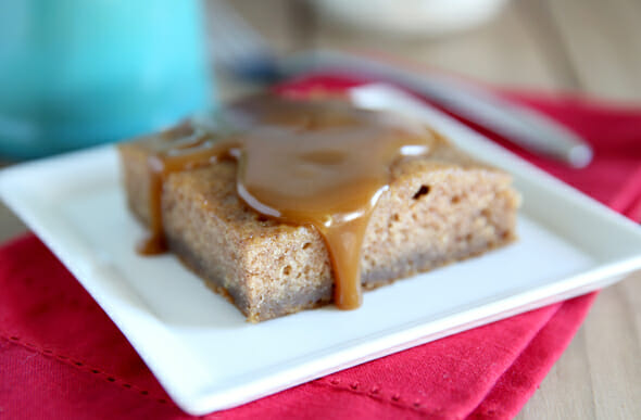 Sticky Toffee Pudding Cake with Sauce_Our Best Bites